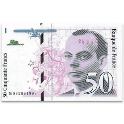 50 Francs Saint-Exupéry...