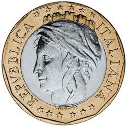 1000 Lires Italie 1997