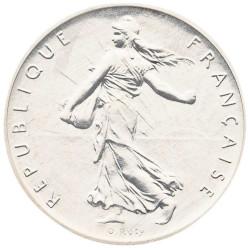 1 Franc Argent PIEFORT...
