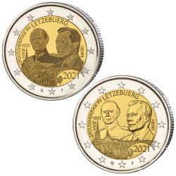 Lot 2 x 2 Euro Luxembourg...