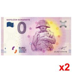 Lot 2 Billets Souvenir 0...
