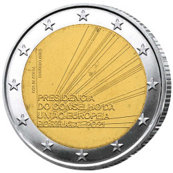 2 Euro Portugal BE 2021 -...