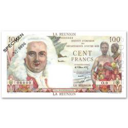 100 Francs La Réunion 1946...