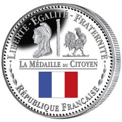 Médaille du citoyen - colorisé