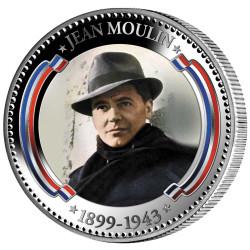 Pièce colorisée - Jean Moulin