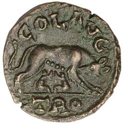 1 Follis Bronze Romulus et...