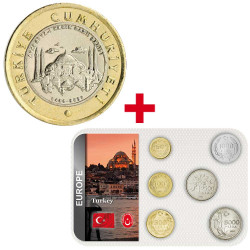Lot des monnaies Turquie
