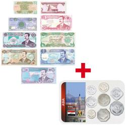 Lot des monnaies Irak