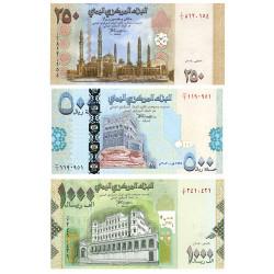 Lot 3 billets Yémen