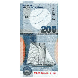 Billet 200 Escudos Cap Vert