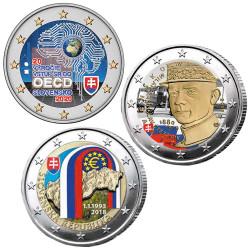 Lot 3 x 2 Euro Slovaquie...