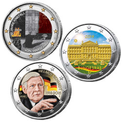 Lot 3 x 2 Euro Allemagne...