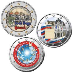 Lot 3 x 2 Euro Slovénie...