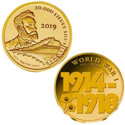 Lot 2 monnaies Or Mali