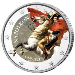 2 Euro Napoléon Ier colorisée