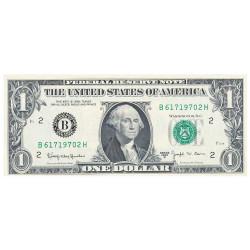 Billet 1 Dollar 1963...