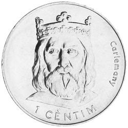 1 Cèntim Andorre 2002