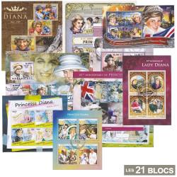21 Blocs Lady Diana