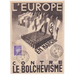 Carte postale 1942