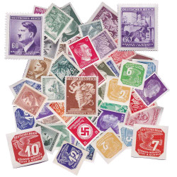 50 Timbres IIIe Reich...