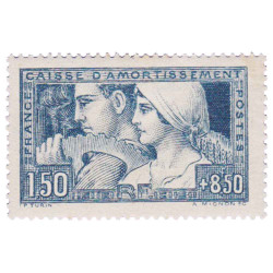 1 Timbre France 1928