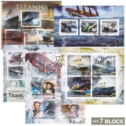 7 Blocs Titanic