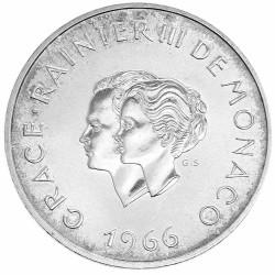 10 Francs Argent Rainier...