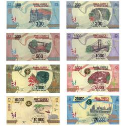 8 Billets Madagascar 2017