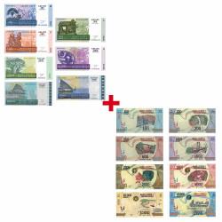 Lot 17 Billets Madagascar