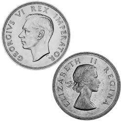 Lot 2 x 5 Shillings Afrique...