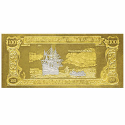 100 Dollars Antigua et...