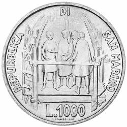 1000 Lires Argent...