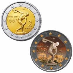 Lot 2 x 2 Euro Grèce 2004