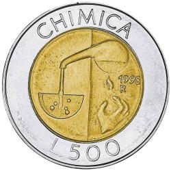 500 Lires Saint-Marin 1998