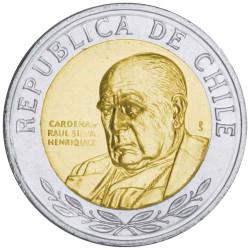 500 Pesos Chili 2001-2014