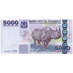 5000 Shillings Tanzanie...