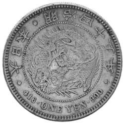 1 Yen Argent Japon 1912 -...