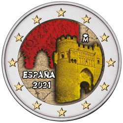 2 Euro Espagne 2021...