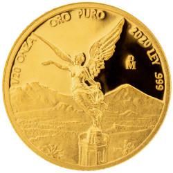1/20e d'Once d'Or Mexique...