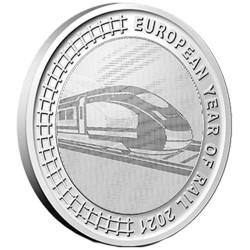 5 Euro Belgique BU 2021 -...