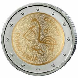 2 Euro Estonie 2021 - Les...
