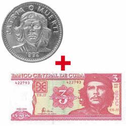 Lot 3 Pesos + Billet 3...