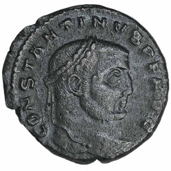 Constantin 1er Bronze AE 1/2