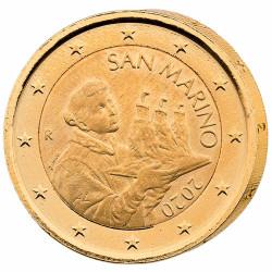 2 Euro dorée Saint-Marin 2020