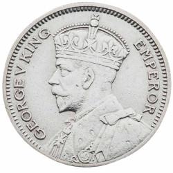 6 Pence Argent Fidji -...