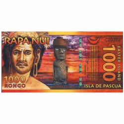 1000 Rongo Île de Pâques