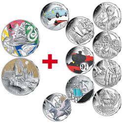 Lot 2 x 50 Euro Argent  + 9...