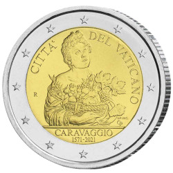 2 Euro Vatican BU 2021 -...