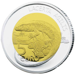 5 Euro Argent Luxembourg BE...