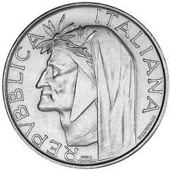 500 Lires Argent Italie 1965